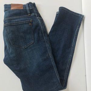 Madewell Slim Straight High-waist Jeans, Sz 26